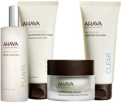 Ahava skin care products