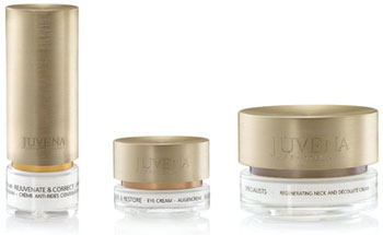 Juvena skin care products