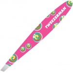 Tweezerman Rainbow Lollipop Swirl Mini Slant Tweezer - Pink