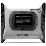 Anthony Logistics Glycolic Exfoliating & Resurfacing Wipes