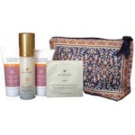Sundari Beauty Bag with Antiaging Firming Skincare