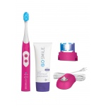 Go Smile Dental Pro 2-in-1 Cleaning & Whitening System - Pink