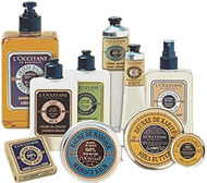 LOccitane skin care products